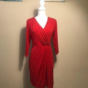 Michael Kors Dresses - Micheal Kors Red Wrap Dress